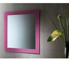 4 огледало с цветна рамка